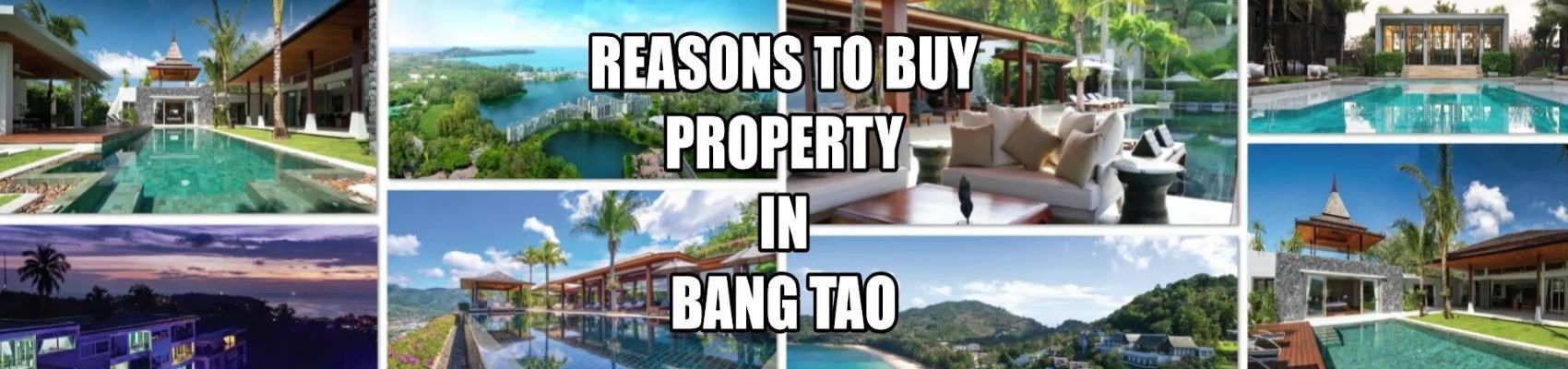 недвижимость в районе пляжа банг тао