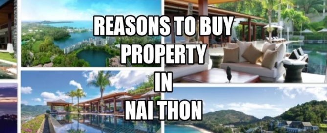 Property in Nai Thon area for sale