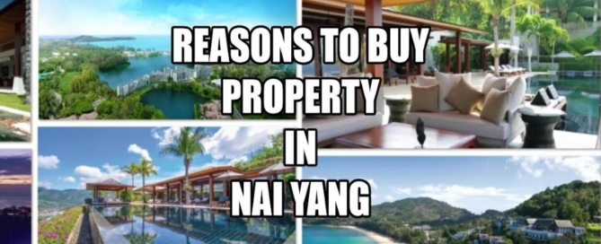 Reasons why to purchase in Nai Yang