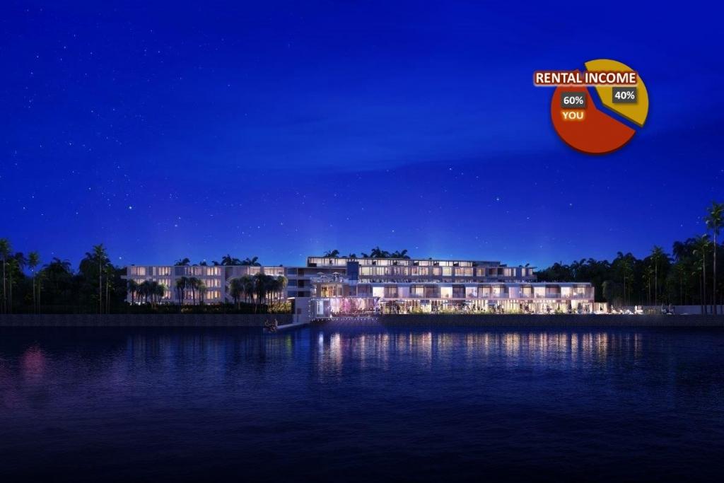 2 Bedroom Seaside Resort Condo for Sale in Chalong Bay Phuket