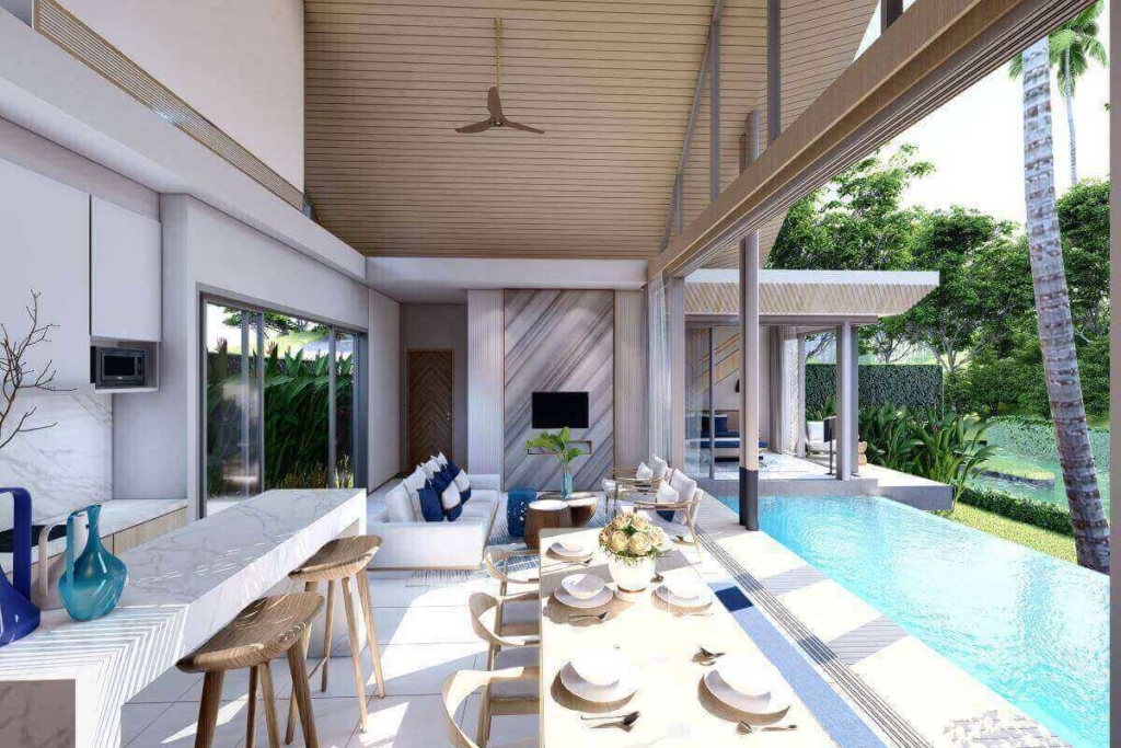 Lapista Lake 2 Bedroom Pool Villa for Sale in Thalang Phuket