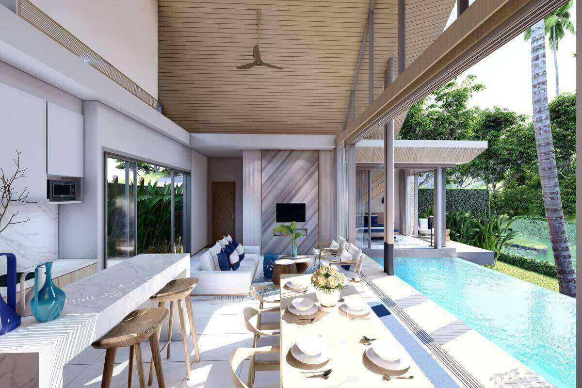 Lapista Lake 2 Bedroom Pool Villa for Sale in Thalang Phuket