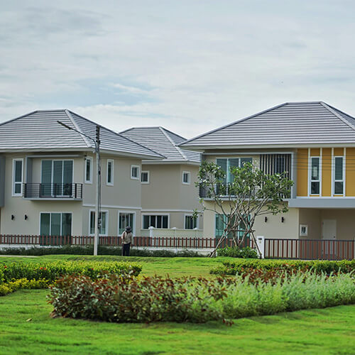 Low and High Density Estate Houses in Phuket