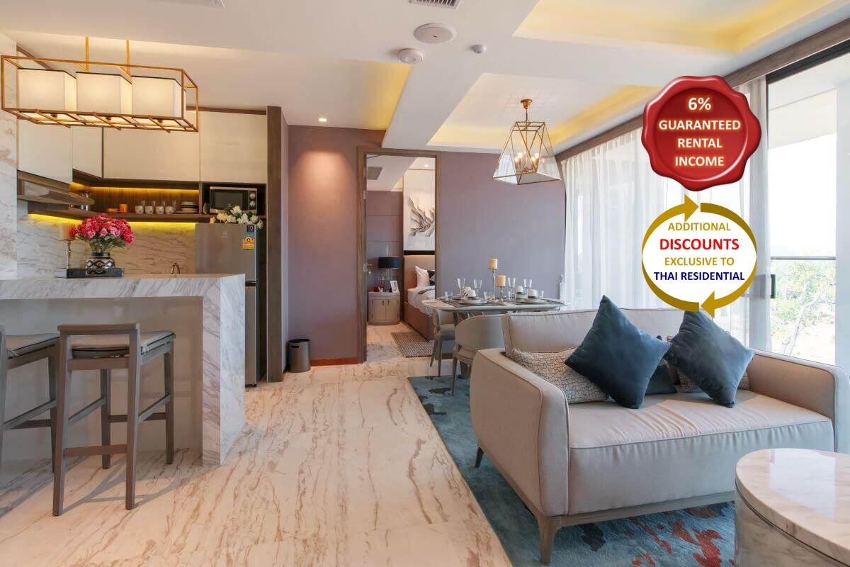 2 Bedroom Resort Condo for Sale near Rawai Beach, Phuket