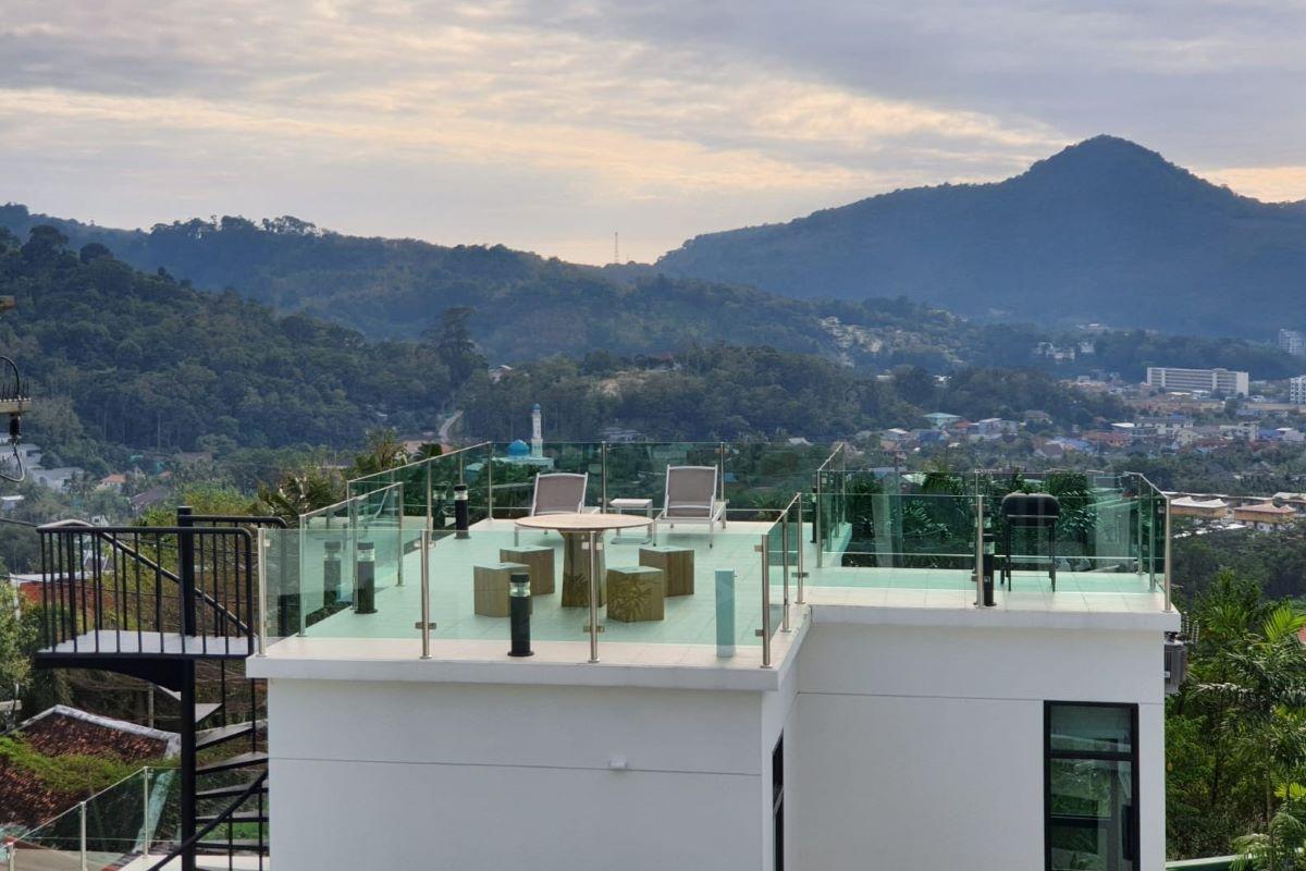 2 Bedroom Sea View Hillside Pool Vila for Sale near Kamala Beach, Phuket