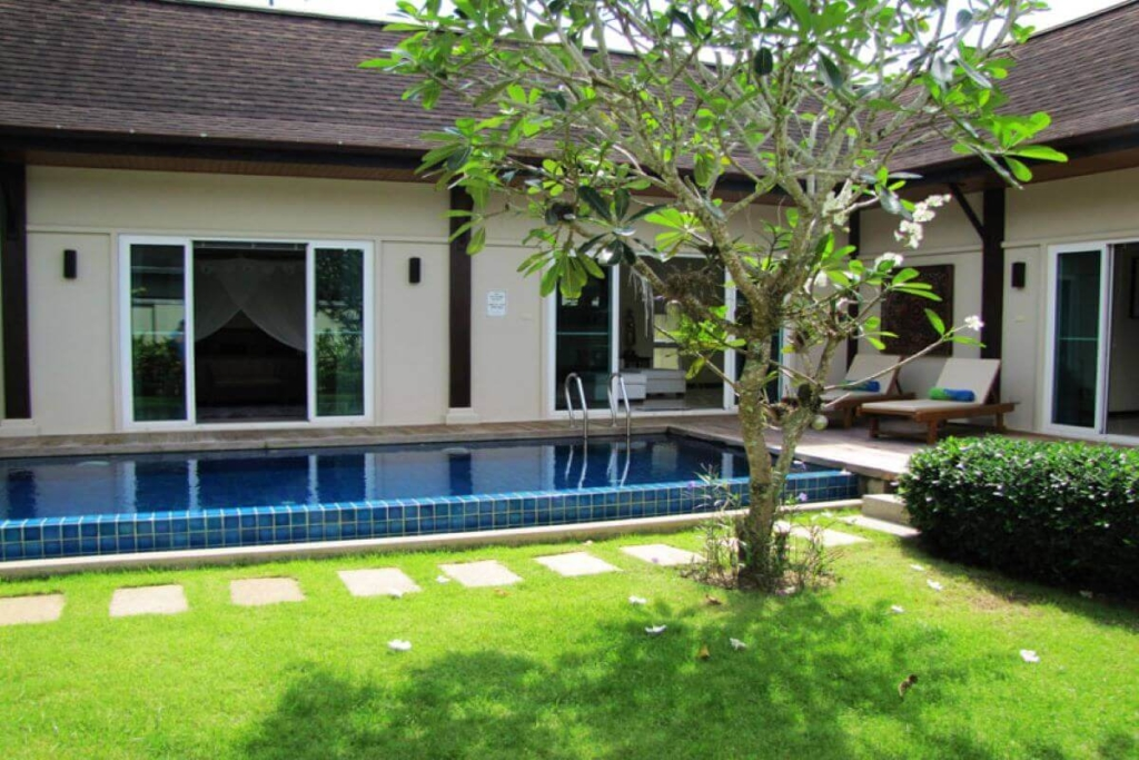 4 Bedroom Balinese-Style Pool Villa for Sale in Cherng Talay, Phuket