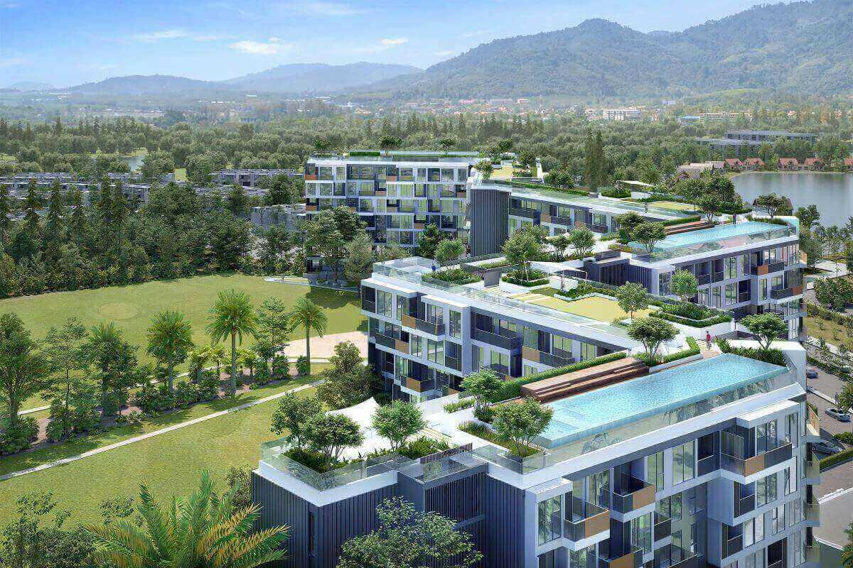 Studio Foreign Freehold Resort Condo for Sale in Laguna Phuket near Bang Tao Beach