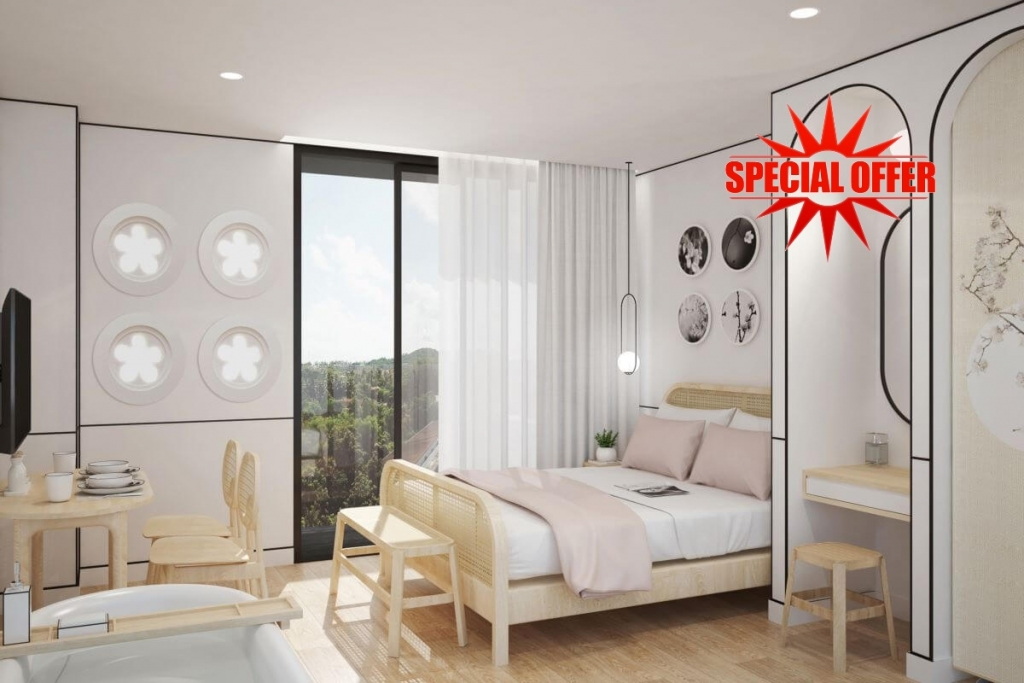 Studio Condo for Sale near Bang Tao Beach, Phuket