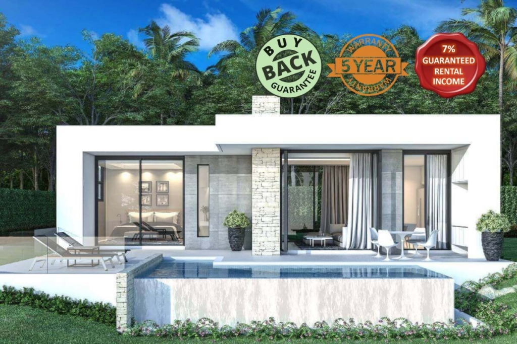 1 Bedroom Sea View Pool Villa near Ao Po, Phuket