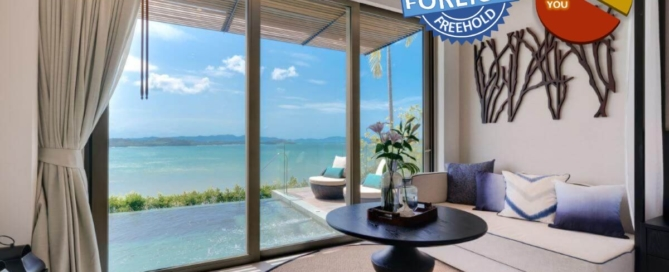1 Bedroom Freehold Beachfront Pool Suite for Sale in Thalang, Phuket