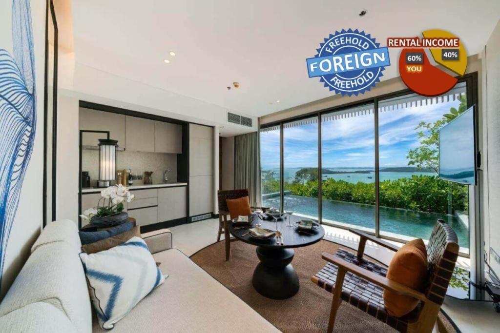 2 Bedroom Freehold Beachfront Pool Villa for Sale in Thalang, Phuket