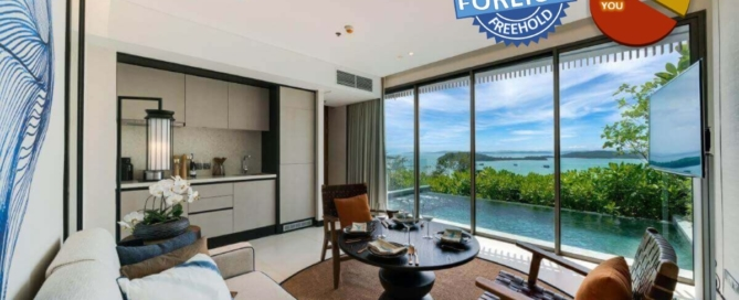 2 Bedroom Freehold Beachfront Pool Villa for Sale in Thalang, Phuket