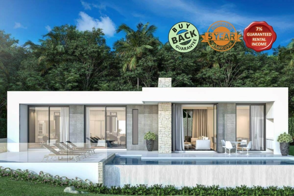 2 Bedroom Pool Villa for Sale near Ao Po Grand Marina, Phuket