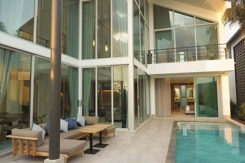 3 Bedroom Pool Villa for Sale near Blue Tree in Cherng Talay, Phuket