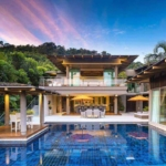 4 Bedroom Sea View Pool Villa for Rent near Layan Beach, Phuket