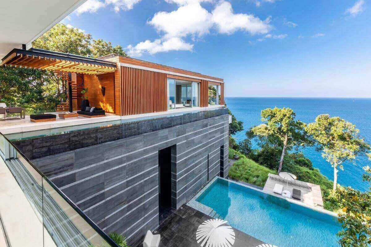4 Bedroom Luxury Oceanfront Pool Villa for Rent in Kamala, Phuket