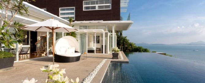 4 Bedroom Sea View Pool Villa for Sale in Yamu, Phuket
