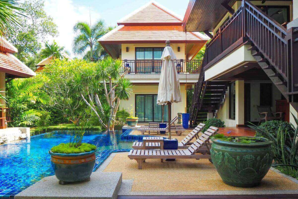 5 Bedroom Luxury Pool Villa for Sale in Nai Harn, Phuket