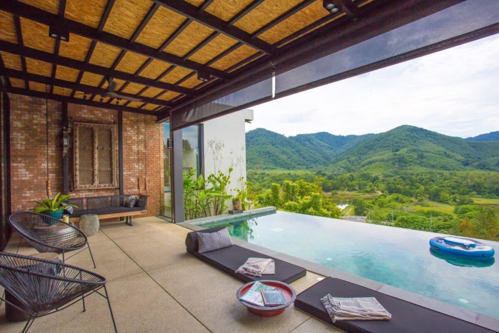 5 Bedroom Mountain View Pool Villa for Sale in Thalang, Phuket