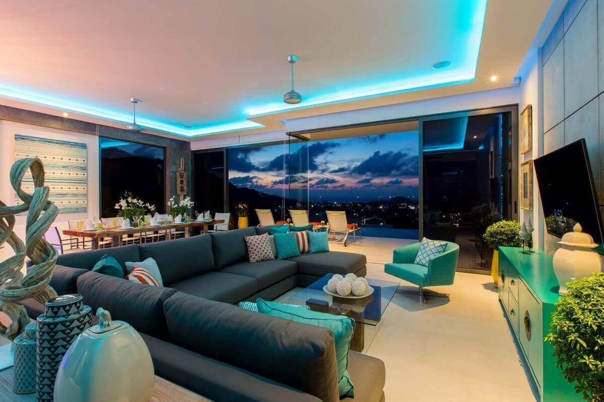 5 Bedroom Modern Pool Villa for Rent in Kata, Phuket