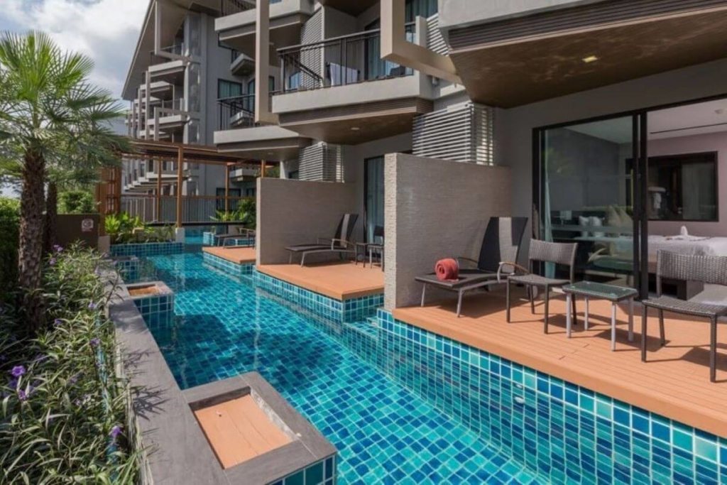 Studio Pool Access Condo for Sale steps from Patong Beach, Phuket