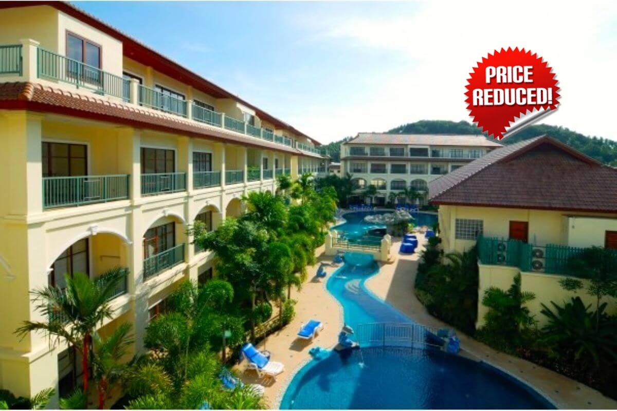 2 Bedroom Ready to Move In Condo near Bang Tao Beach, Phuket