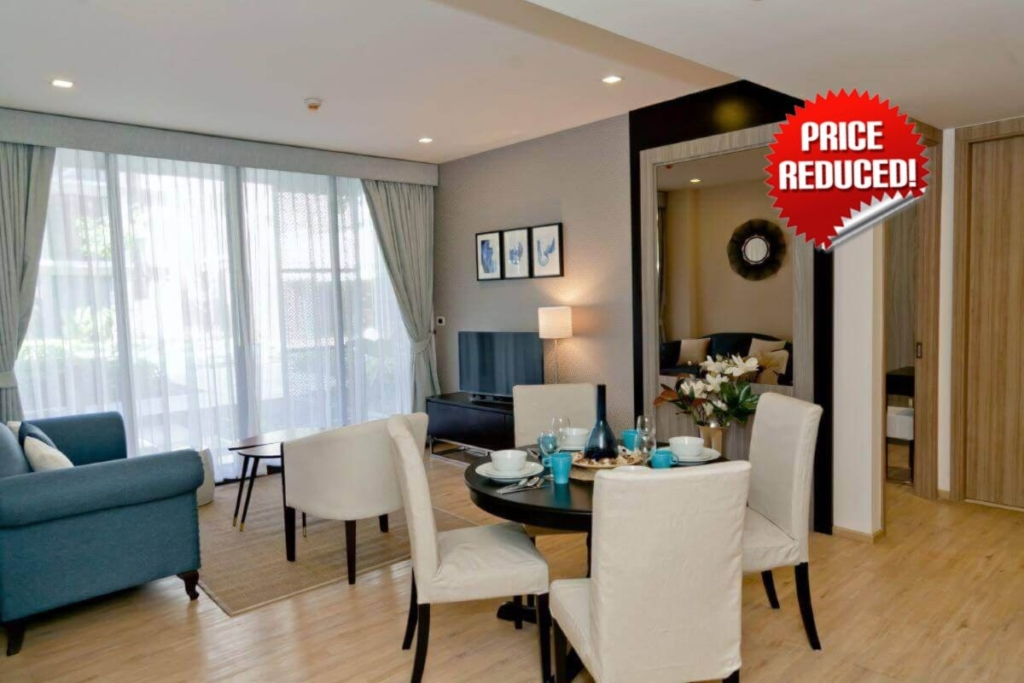 2 Bedroom Fully-Furnished Condo for Sale in Mai Khao Beachfront, Phuket