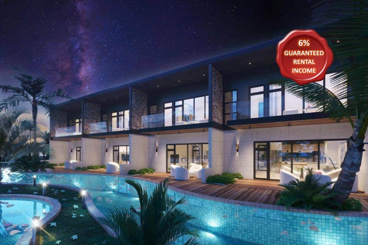 2 Bedroom Townhouse with Pool Access for Sale in Mai Khao, Phuket
