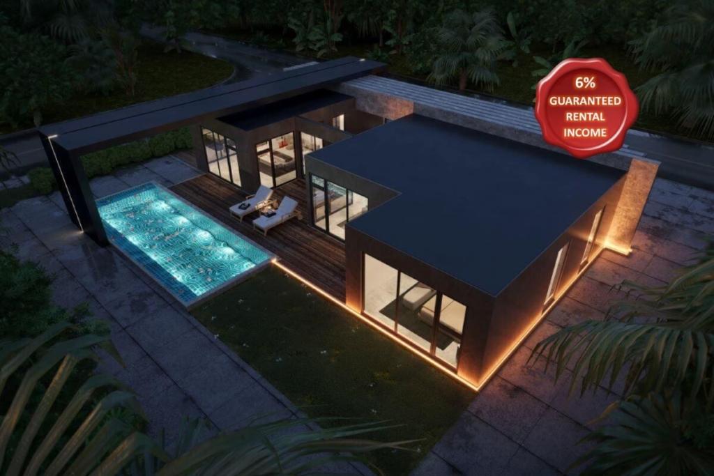 3 Bedroom Sea View Pool Villa for Sale in Mai Khao, Phuket