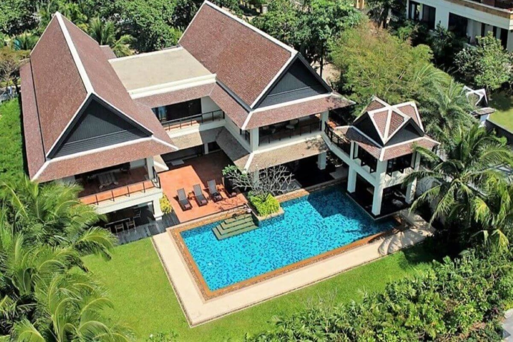 6 Bedroom Pool Villa 100 Meters to the Beach for Sale in Layan, Phuket
