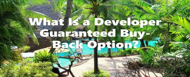 What is a developer Guaranteed Buy Back Option