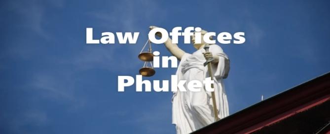 Liste der Anwaltskanzleien in Phuket, Thailand