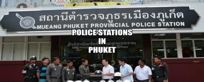 Polizeistationen in Phuket