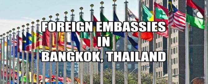 Посольства в Бангкоке, Таиланд