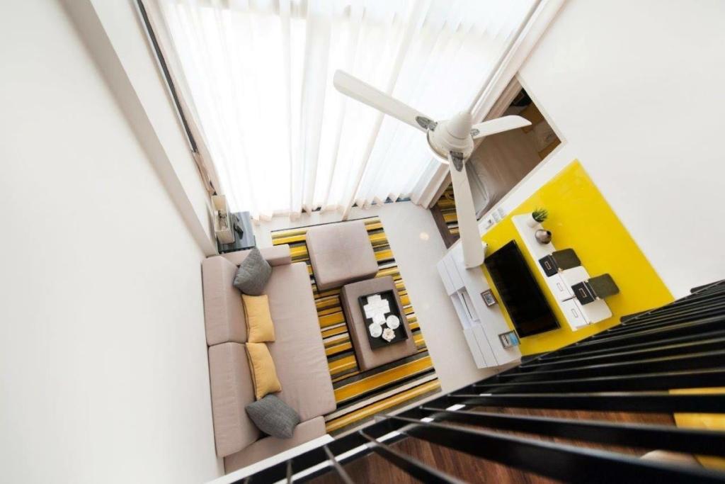 1 Schlafzimmer voll möblierte Loft Eigentumswohnung zum Verkauf durch Eigentümer in Laguna, Phuket