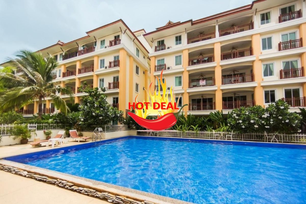 2 Bedroom Fully Furnished Freehold Condo for Sale by Owner in Nai Harn, Phuket
