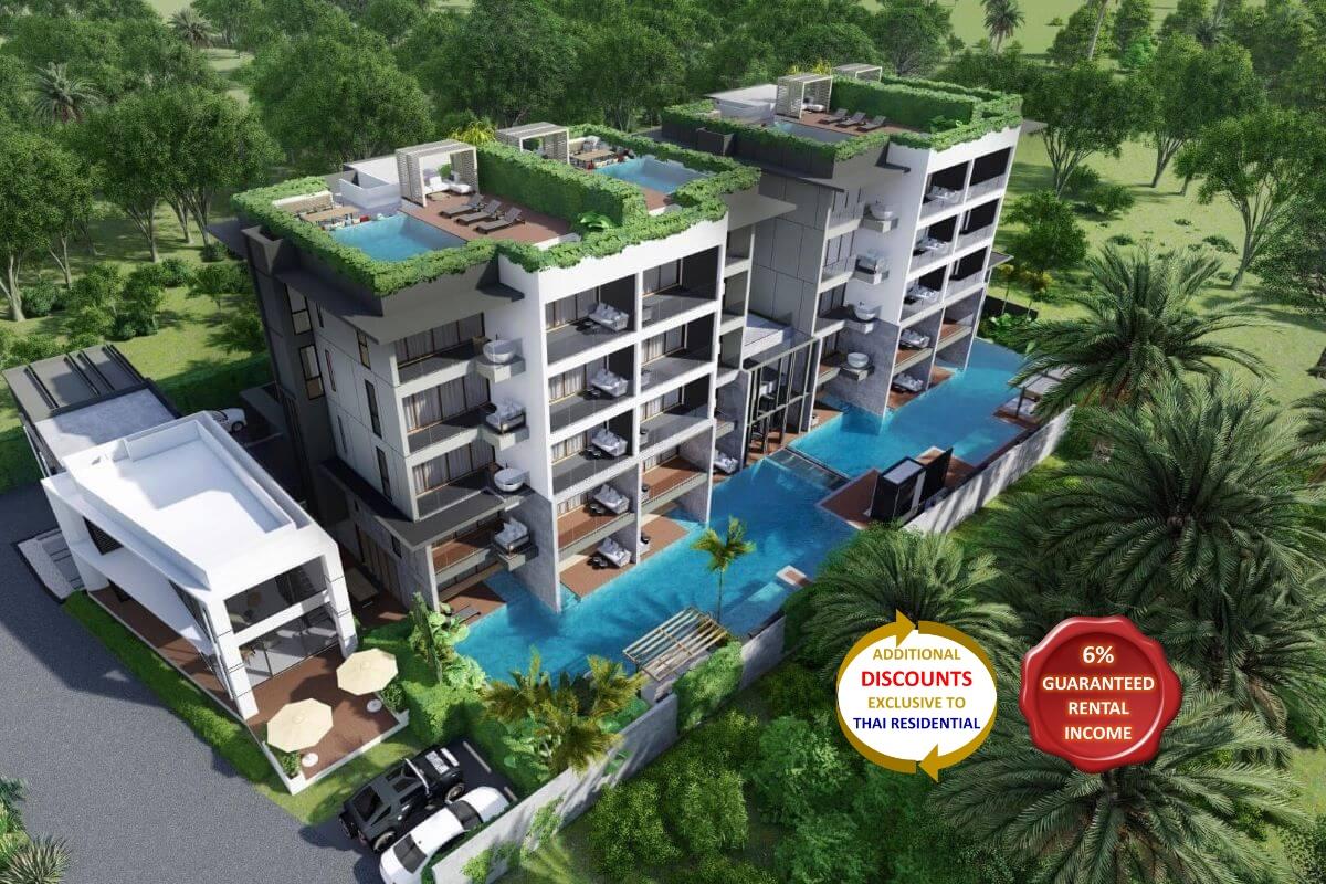 2 Bedroom Condo for Sale near Bang Tao Beach, Phuket