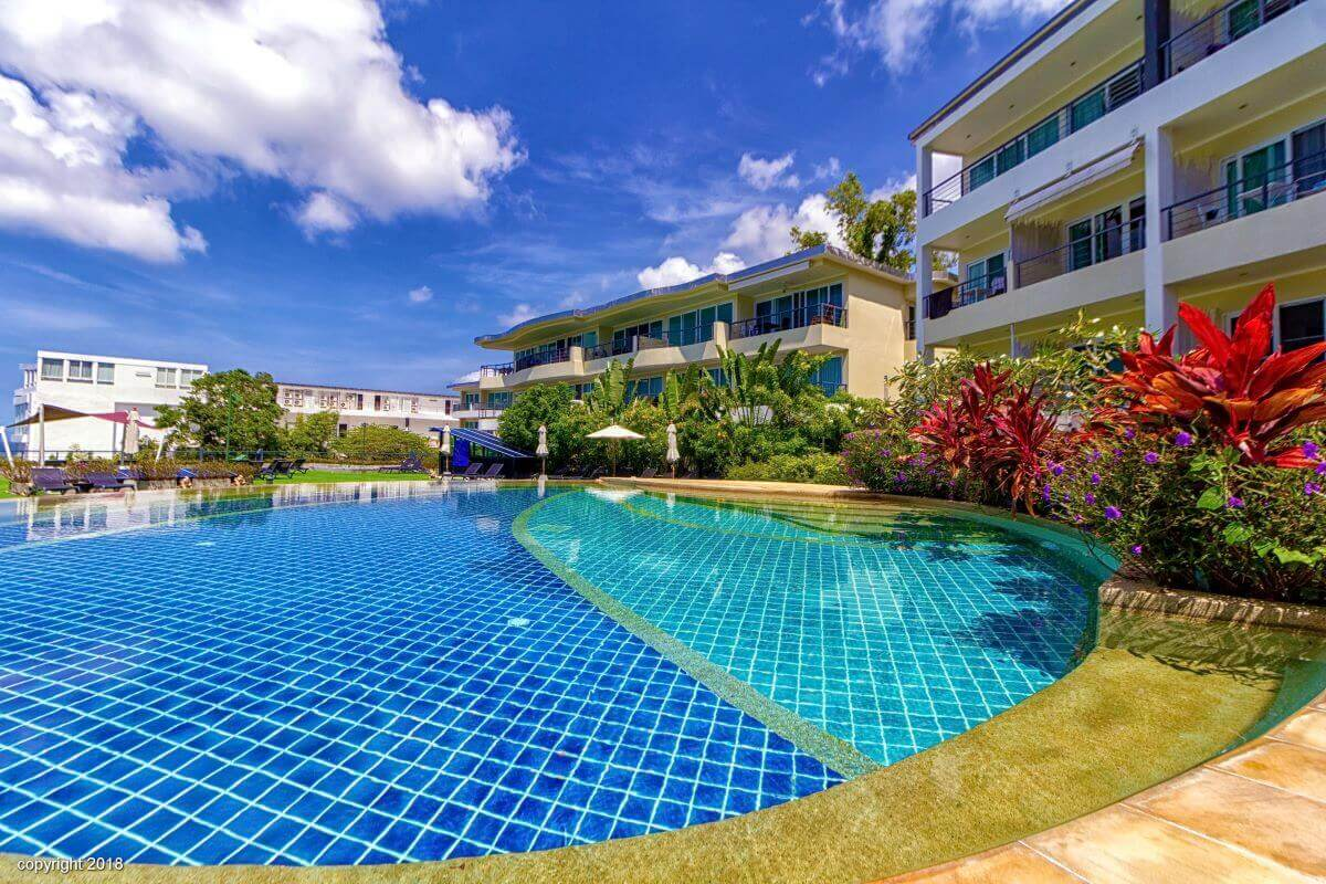 2 Bedroom Fully Furnished Sea View Condo for Sale near Karon Beach, Phuket