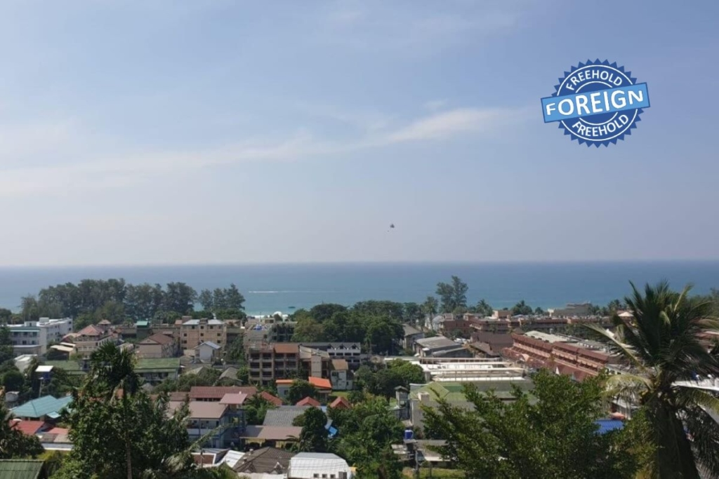 2 Bedroom Foreign Freehold Sea View Condo for Sale near Karon Beach, Phuket