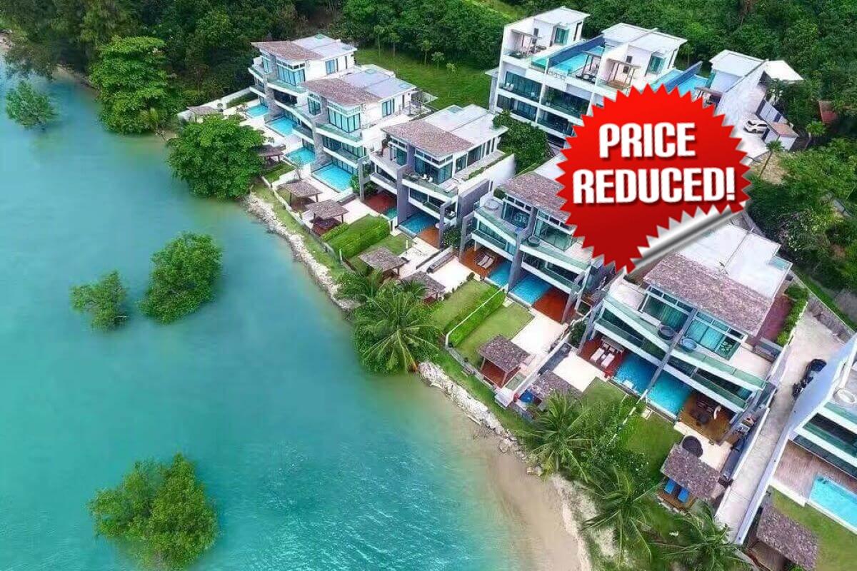 3 Bedroom Beachfront Pool Villa for Sale in Rawai, Phuket