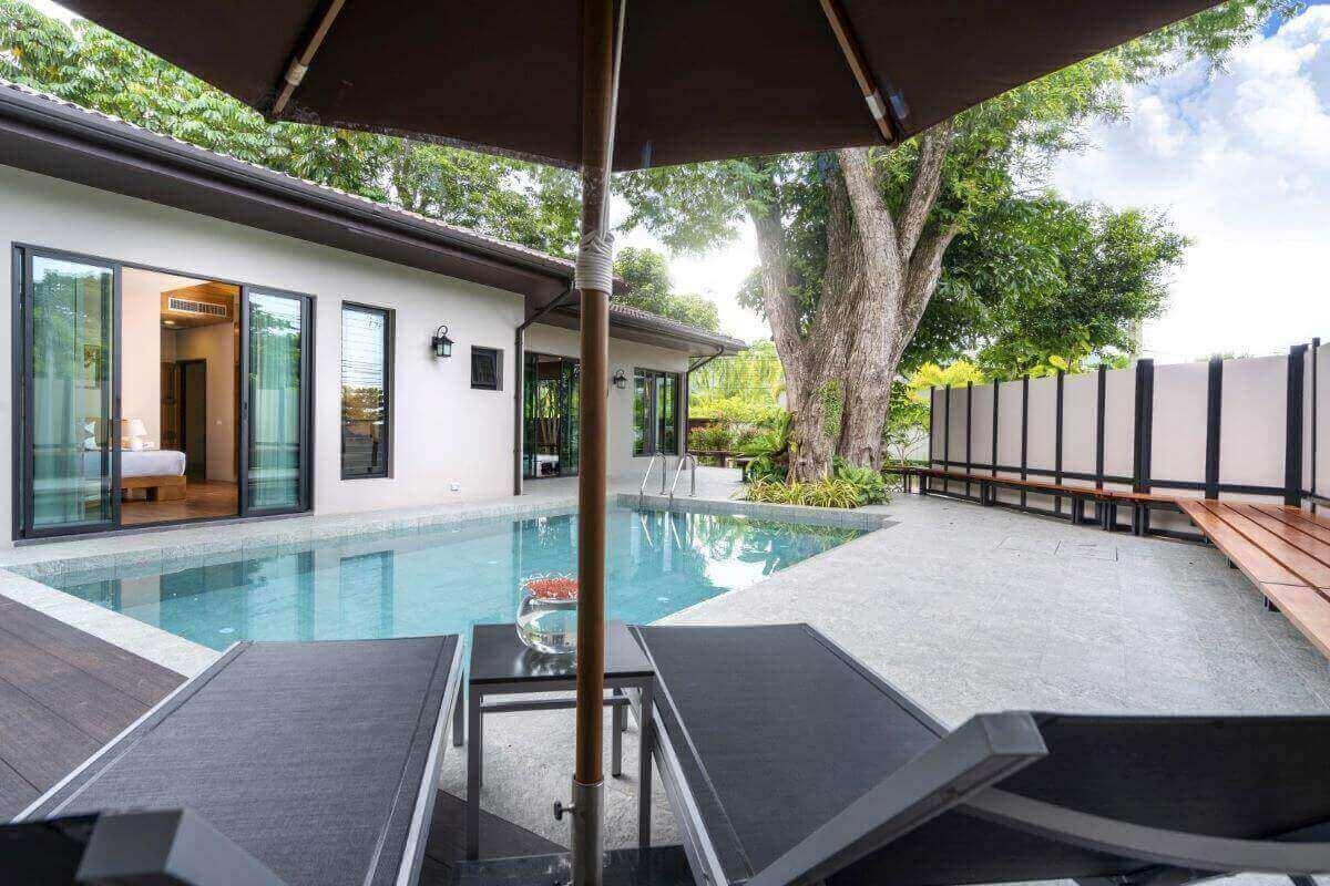 3 Bedroom Fully-Furnished Pool Villa for Sale near Nai Harn Beach, Phuket