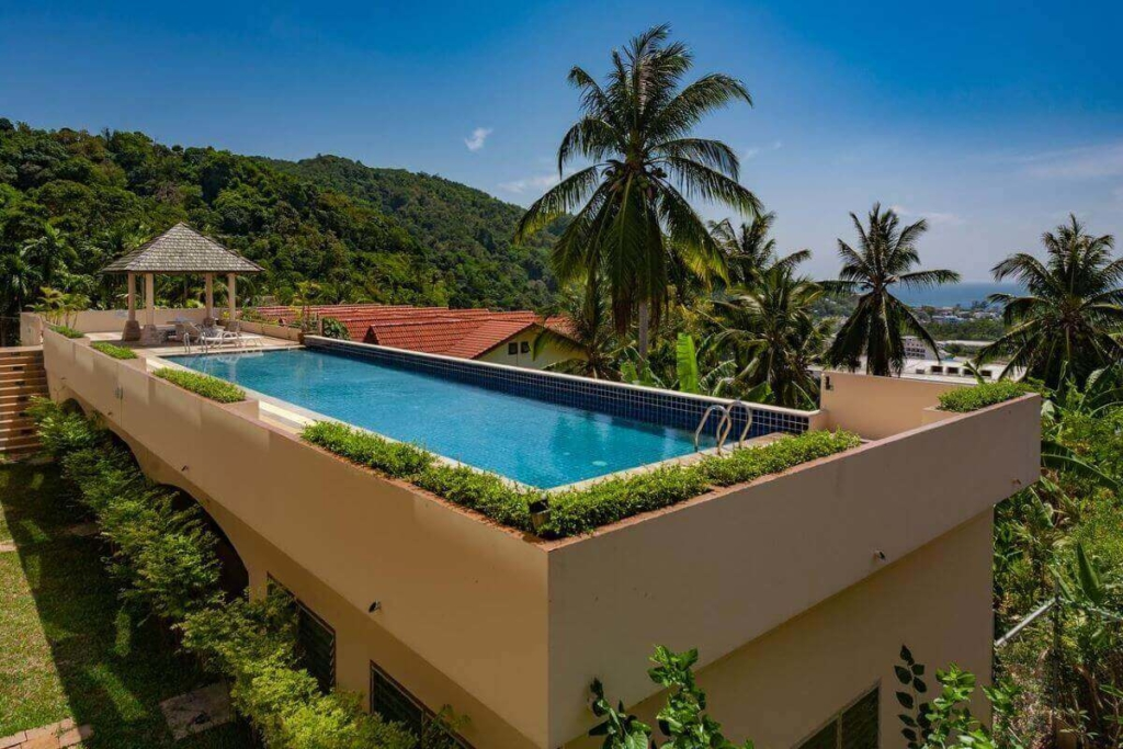 4 Bedroom Freehold Sea View Townhouse near Kata Beach, Phuket
