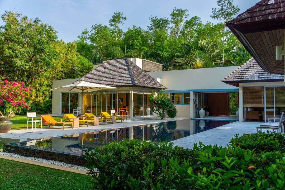 4 Bedroom Pool Villa for Vacation Rental near Layan Beach, Phuket