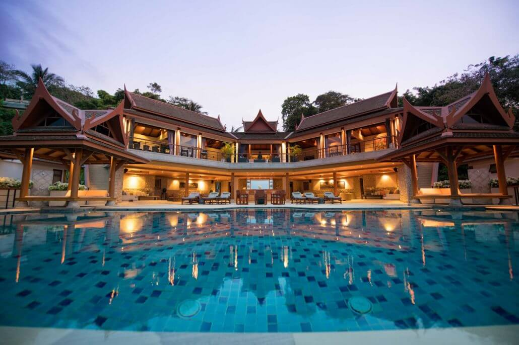 6 Bedroom Sea View Luxury Villa for Vacation Rental in Surin, Phuket