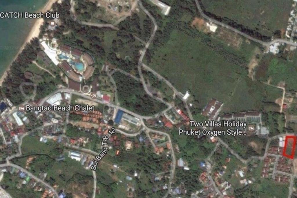 1.5 Rai (2,400 sqm) Land for Sale near Bang Tao Beach, Phuket