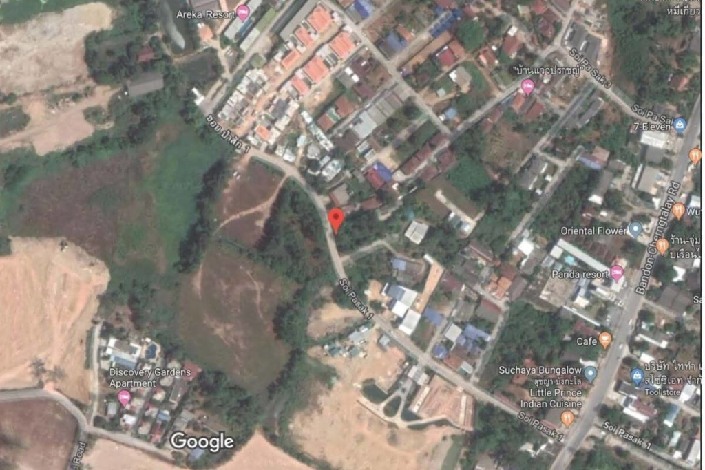 1.8 Rai or 2891sqm Land for Sale near Laguna in Thalang, Phuket