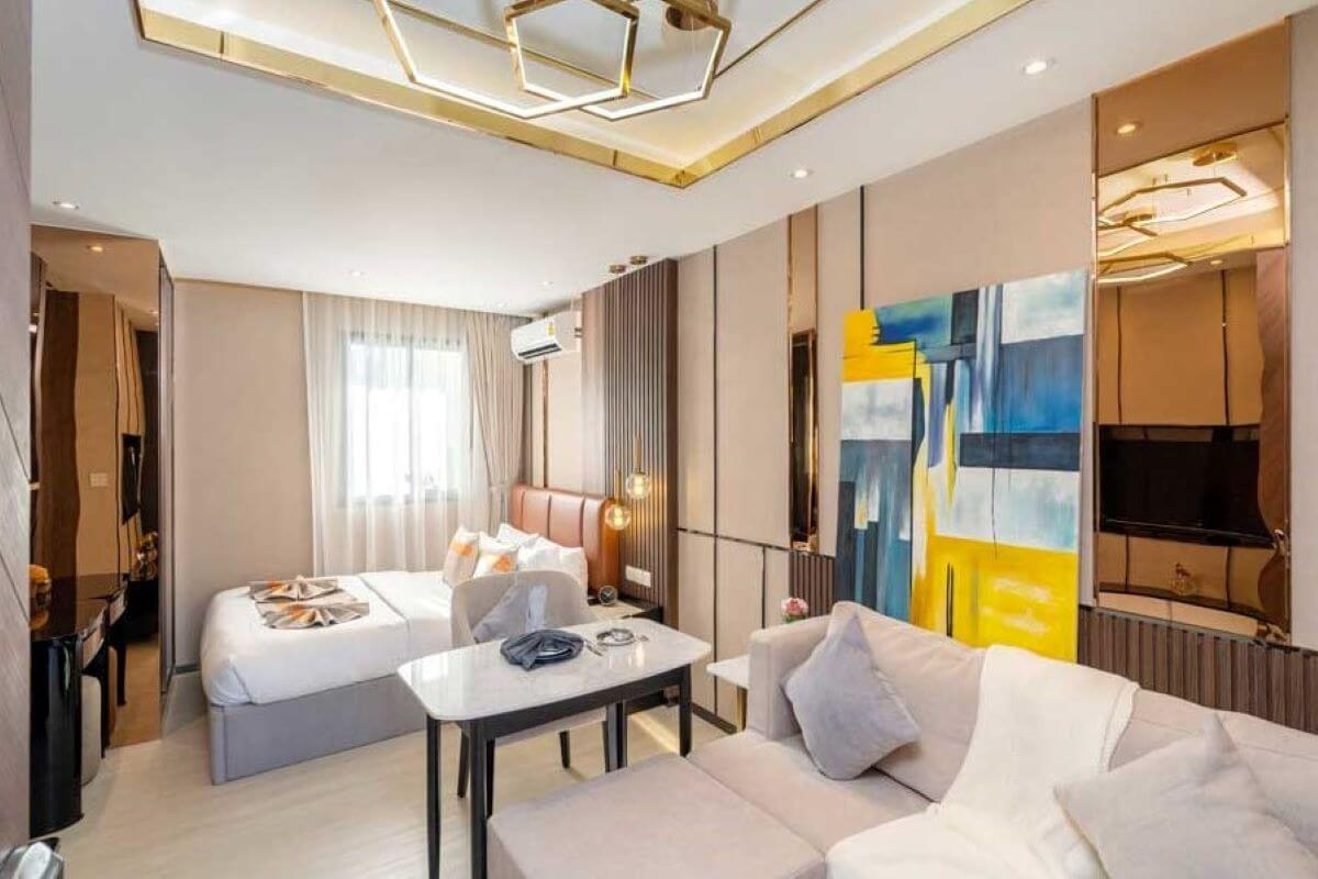 Studio Freehold Condo for Sale near the airport and Nai Yang Beach, Phuket
