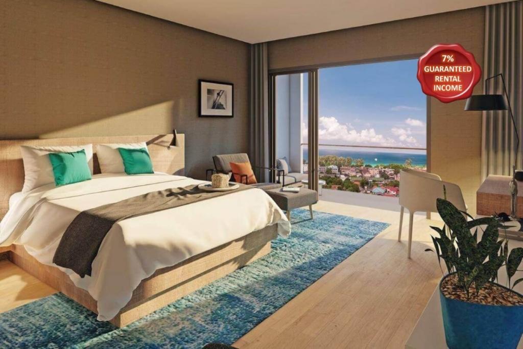 Studio Sea View Fully Furnished Condo for Sale near Karon Beach, Phuket