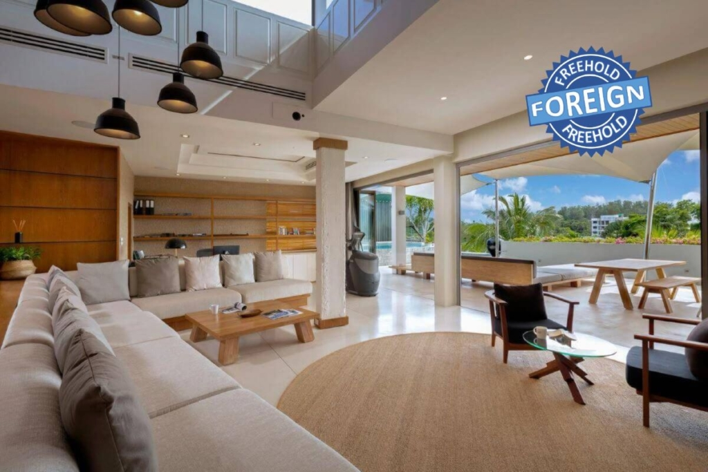 2 to 3 Bedroom Foreign Freehold Penthouse Villa for Sale near Bang Tao Beach, Phuket
