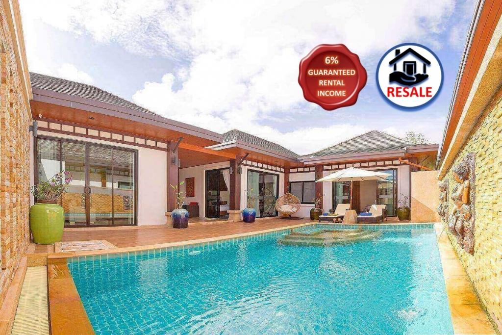 2 Bedroom Resort Pool Villa for Sale at Rawai VIP Villas near Rawai Beach, Phuket